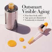 Outsmart Visible Aging: Fine lines look softer, Age spots are diminished and luminosity is returned