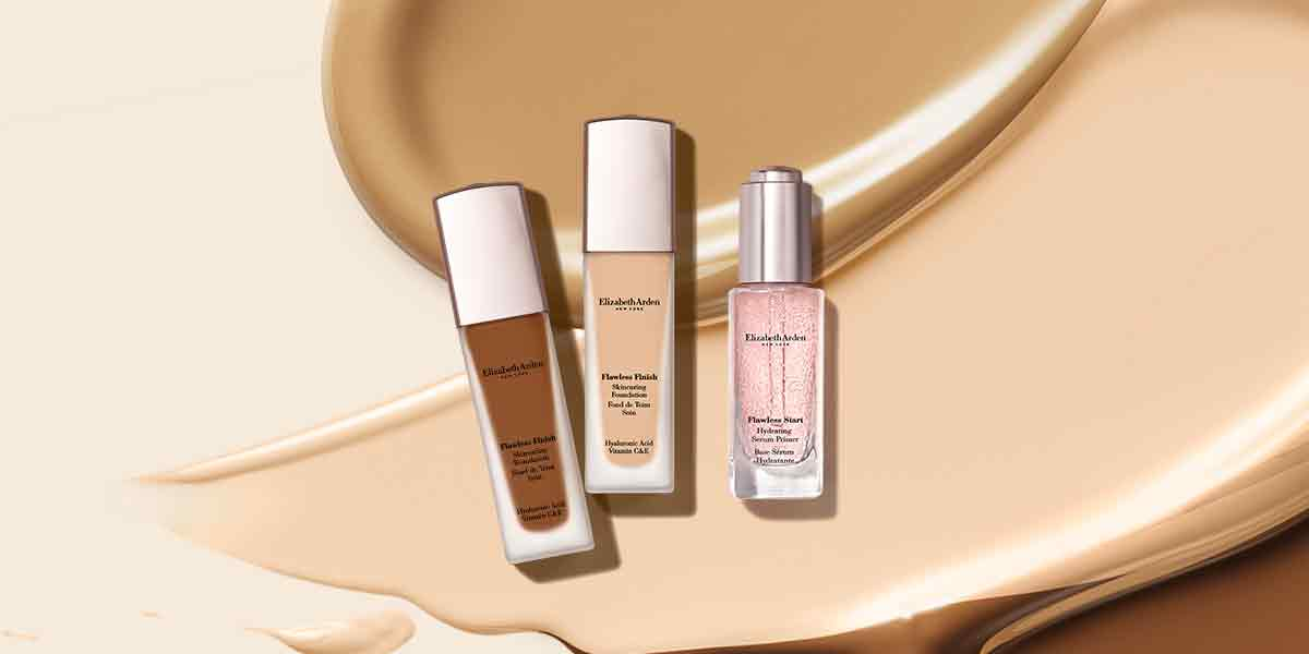 Skincariing Foundation with 24-Hour Wear