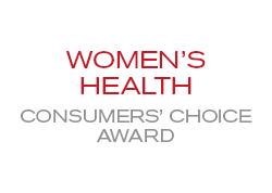 Women's Health Consumers' Choice Award