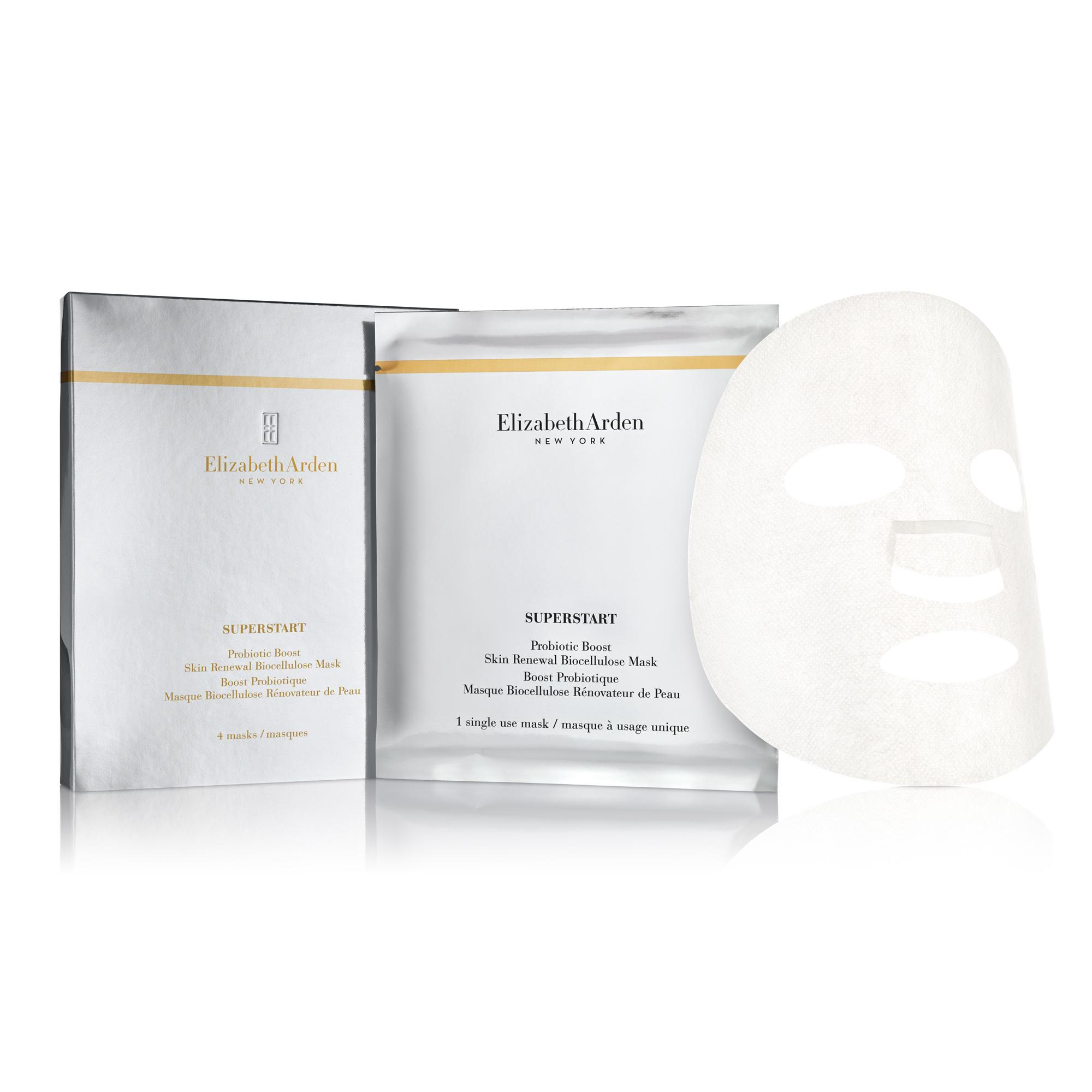 SUPERSTART Boost Probiotique Masque Biocellulose Rénovateur de Peau, , large