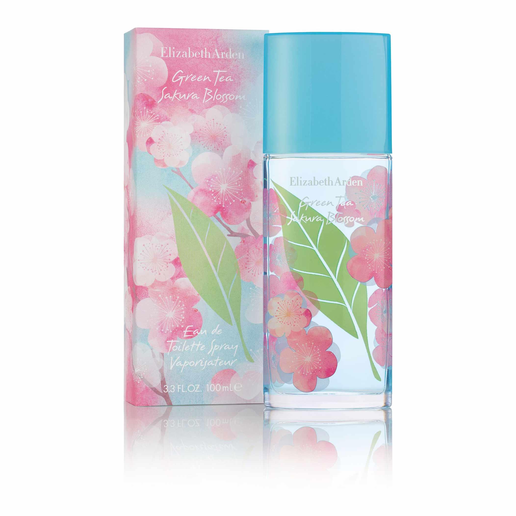 Green Tea Sakura Blossom Eau de Toilette, , large