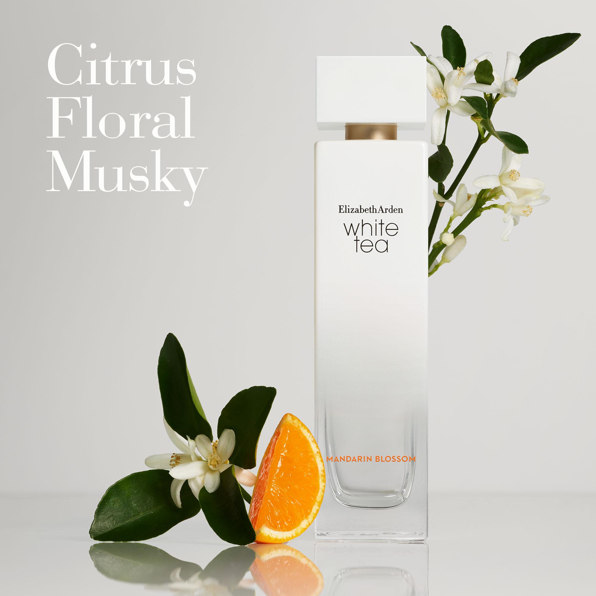 Olfactory: Citrus, Floral, Musky